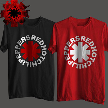 Nk Punk Rap Alternative Rock And Roll Red Hot Chili Peppers T Shirt dos homens do algodão impressão música Rock preto HIp Hop t-shirt camiseta