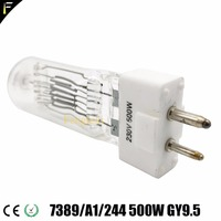 Studio Light Parts Replacement Lamp Bulb 300w 230v GY9.5 80mm Halogen Bulb Lamp For Theater Lighting