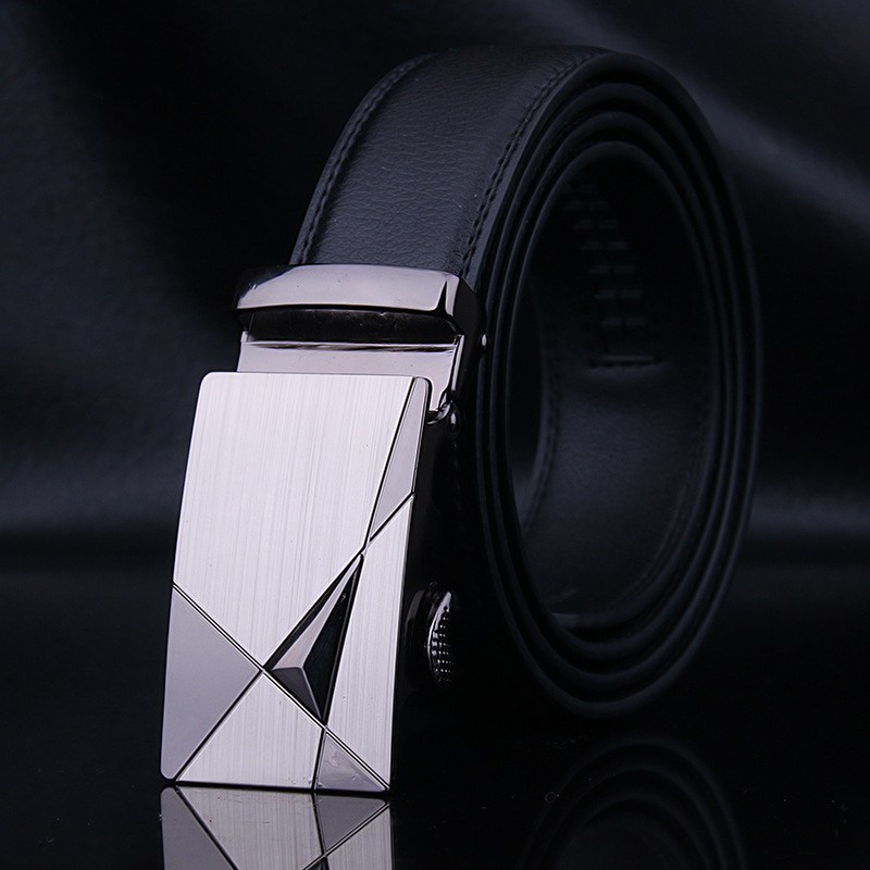 Famous brand Mens Designer   Belts   Real Genuine Leather Automatic Buckle Male Waistbands   Belts   Luxury Ceinture Homme
