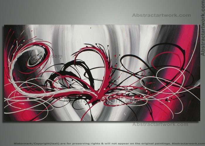 Abstrakte Pfau Malerei-kaufen Billigabstrakte Pfau Malerei Partien ... Wohnzimmer Schwarz Weis Rot