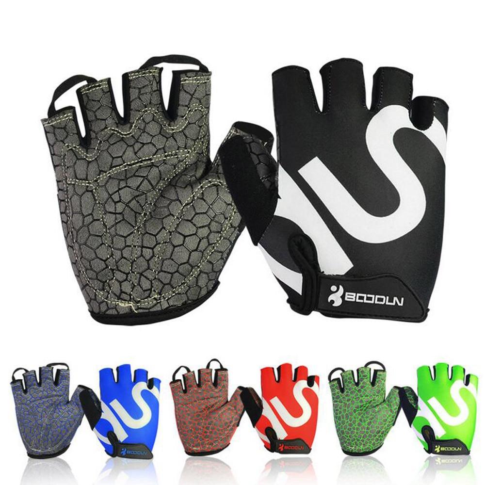 Gym Weightlifting Gloves Body Building Half Finger Fitness Gloves An-slip Sports Training Gloves