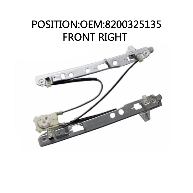 FOR RENAULT MEGANE II 2 3 DOOR COUPE COMPLETE ELECTRIC WINDOW REGULATOR FRONT RIGHT 8200325135 8201101925