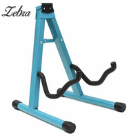 New Universal Folding A Frame Guitar Floor Stand Holder Electric Acoustic Rest Rack For Classic Acoustic