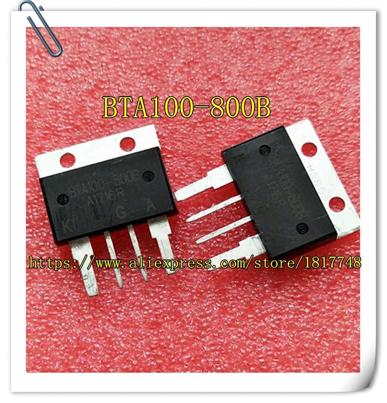 Free shipping 2PCS/LOT  two-way scr BTA100-800B BTA100 100A/800V Large current large chip free shipping 2pcs lot two way scr bta100 800b bta100 100a 800v large current large chip