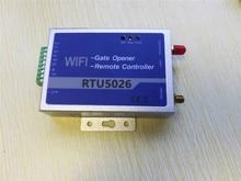 Купить с кэшбэком WIFI Remote Control RTU Gate Opener Burglar Alarm System