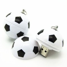 China factory promotional gifts soccer ball football model usb flash drive mini usb 4gb