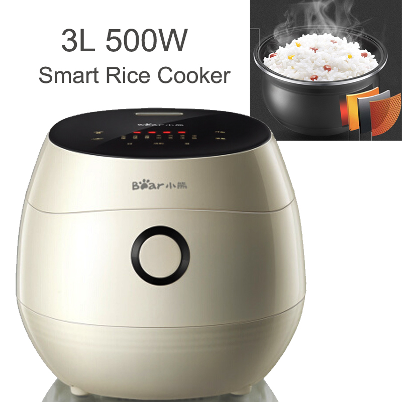 15%JA126 Mini Drum Shape Non-stick Reservation Timing Electric Rice Cooker 3L 500W IMD Panel Smart Rice Cooker Heat Preservation цена и фото