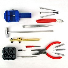 A034 New 16pcs Watch Repair Tool Kit Band Strap Link Remover Back Opener Screwdriver цена
