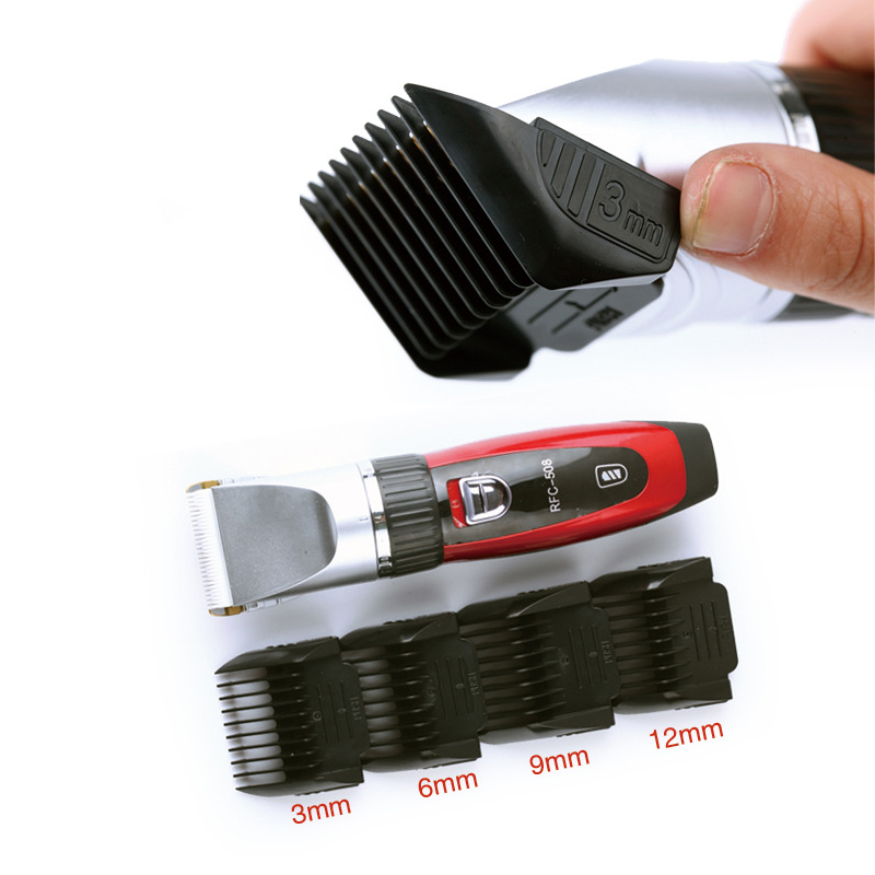 professional hair clipper lithium battery titanium ceramic blade Rechargeable Hair Trimmer hair cutting machine extra battery titanium blade brand