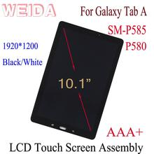 WEIDA LCD Replacment 10.1 For Samsung Galaxy Tab A P580 P585 P580N Touch Screen Digitizer Assembly