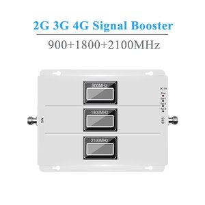 Image 2 - Lintratek 2g 3g 4g agc repetidor de sinal 900 mhz umts 2100 mhz lte 1800 mhz tri banda lcds telefone celular amplificador de reforço de sinal novo @
