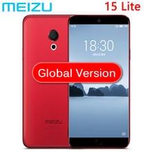Küresel sürüm Meizu 15 lite 4 GB RAM 32 GB ROM Snapdragon 626 Octa Çekirdek 5.46