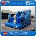 Congelados da classe comercial pesados pvc lona inflável slides, deslizamento inflável n slide para crianças