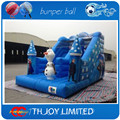 frozen commercial grade heavy duty pvc tarpaulin inflatable slides,inflatable slip n slide for kids