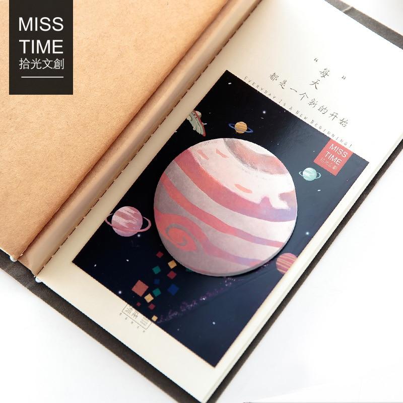 1 шт. Новое время Traveler Mini Блокнот заметки поставка школы Закладки разместить его этикетки подарок m0065