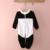 2017 Novo Bebê Traje Animal Pijama Onesie Panda Escalada Romper Macacão Macacão