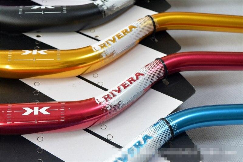 31.8*720mm MTB Road Bike Downhill Handlebar Riser rise up 35mm Biycle Handlebar