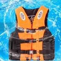6 Sizes Professional Life Jacket Swimwear Polyester Life Vest Colete Salva Vidas For Water Sports Swimming