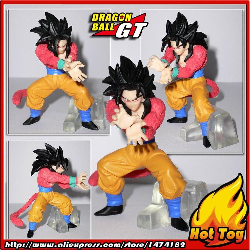 100% Original BANDAI Gashapon PVC Toy Figure HG GT 2 - Goku Super Saiyan 4 from Japan Anime Dragon Ball GT (7cm tall) endress ese 506 hg gt duplex