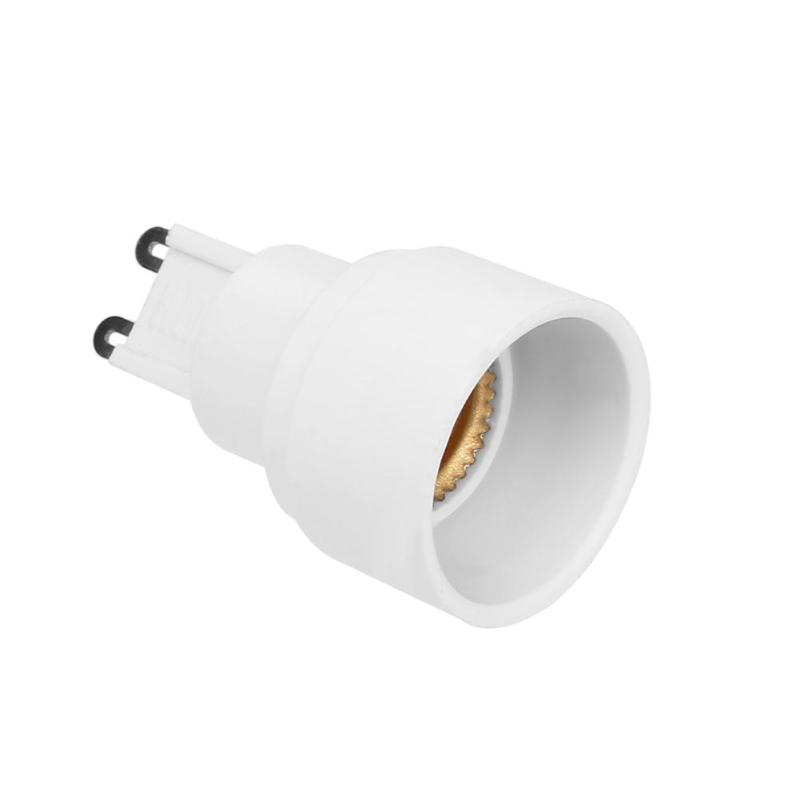 5pcs/pack G9 to <font><b>E14</b></font> Adapter LED <font><b>Lamp</b></font> Base Holder Bulb <font><b>Socket</b></font> Converter 60W Light Stand Fitting Home Office Lights Bulb E5M1 image