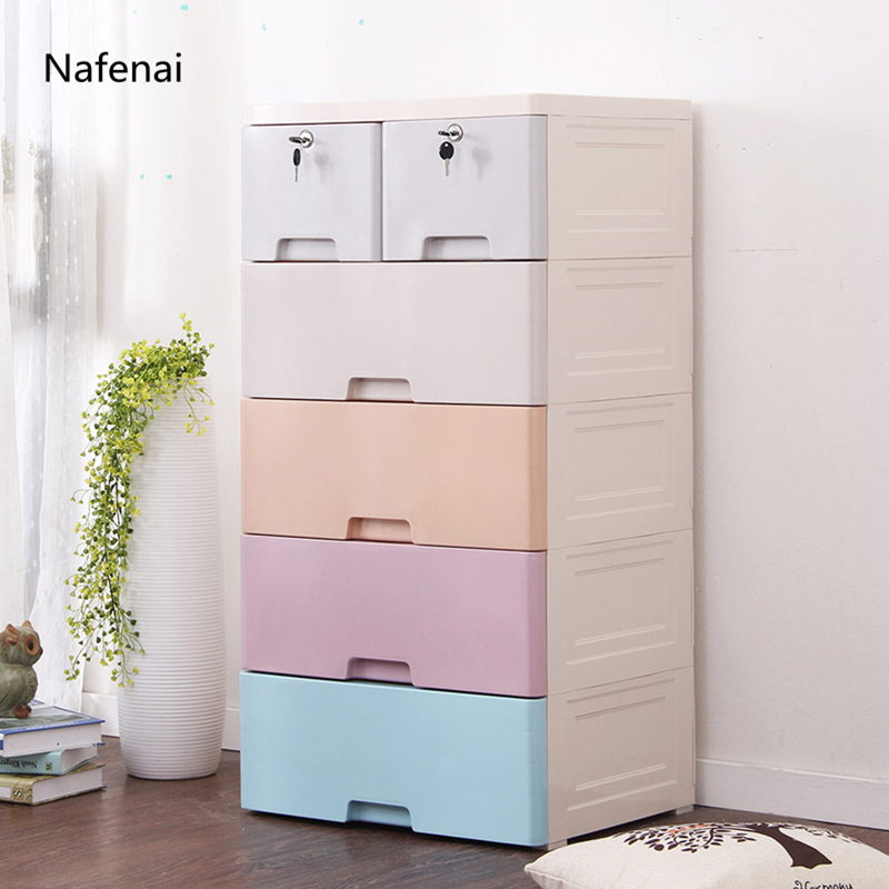 Wardrobe Storage Large capacity Simple Closet Easy assembly Cabinets Fold cloth Organizer furniture Reinforcement Stowed Clothes