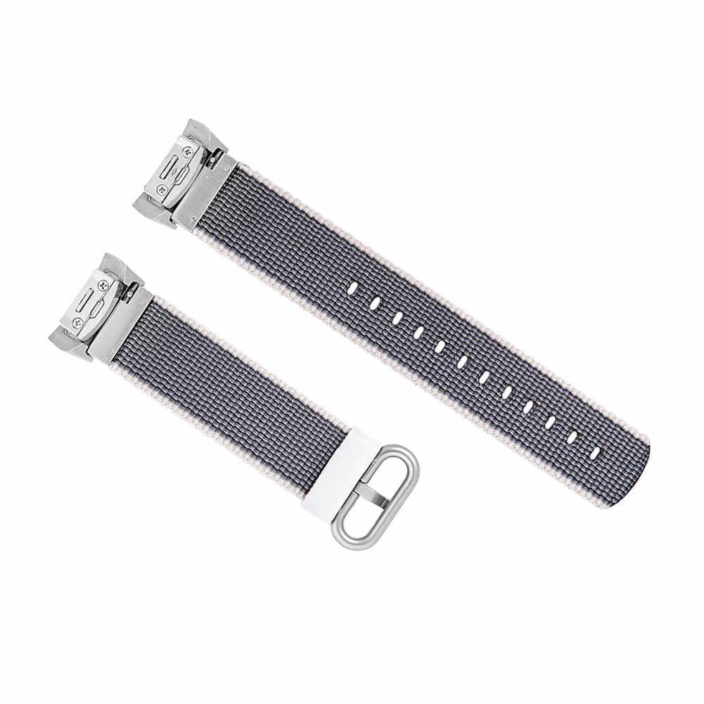 1 Pcs רצועת השעון שעון יד רצועת החלפת ניילון עבור Samsung הילוך S2 ספורט R720 R730 DU55