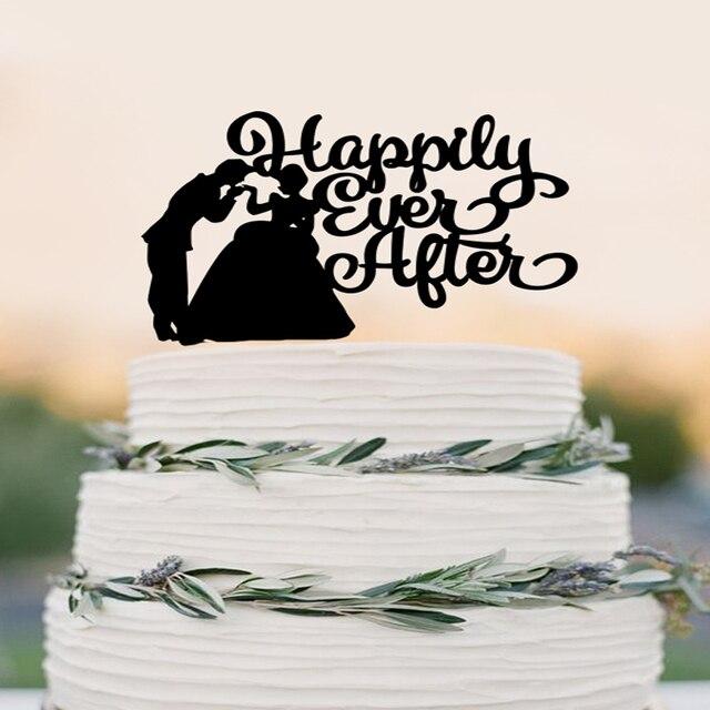 Cinderella Cake Topper Wedding Cake Topper Happily Ever After Cake