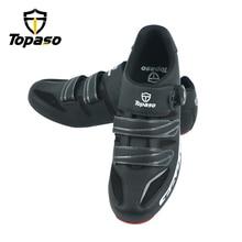 Topaso Brand Road Bike Cycling Shoes Sneakers Men Zapatillas Ciclismo Carretera Deportivas Hombre Sapatilha Ciclismo Estrada цена