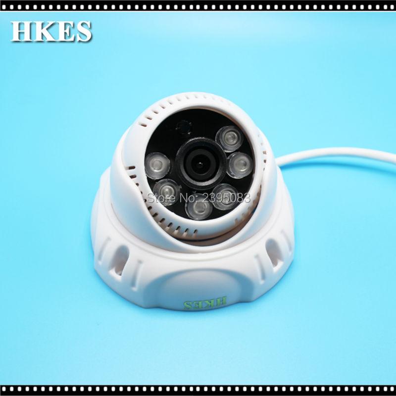 HKES Sony IMX323 Sensor Indoor 1080P AHD Camera CCTV Security Dome Camera 6 IR Leds Day & Night Vision Surveillance