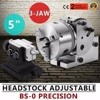 5 polegada 3 mandíbula chuck cabeça de indexação dividindo cabeça|head|head head|  -