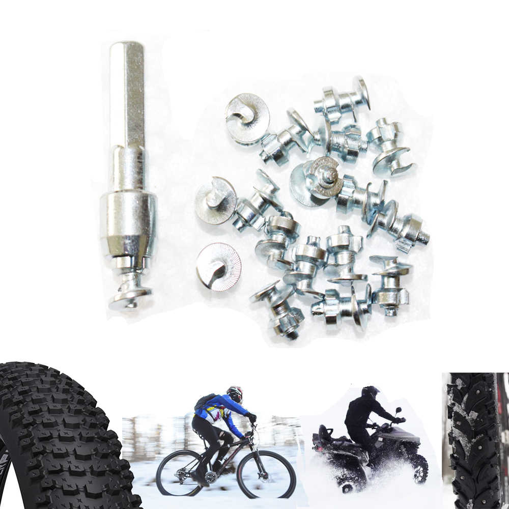 0462018851 ... 200pcs Tyre Spikes for Fishing Shoes Boots Motorbik BicycleTruck snow  studs for fatbike Screw in Tire ...