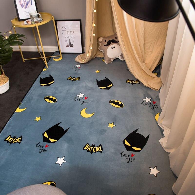 Moderno piso shaggy nordic crianças pele banheiro casa para sala de estar macio poliéster criança tapete tapetes quarto tapete