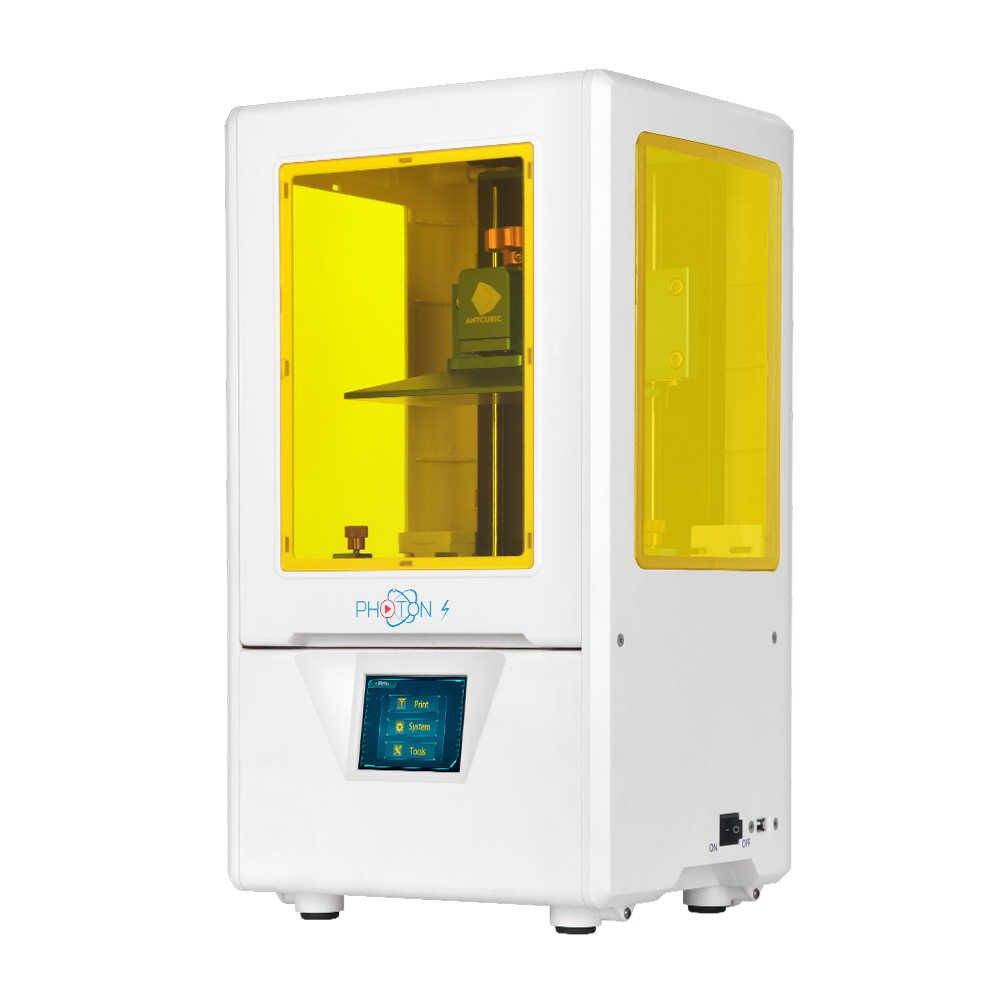 Anycubic Photon-S Novo!!! 3D Jewerly Dental A Laser Atualizado Impressora 3d SLA/LCD UV Resina Slicer Desktop 2.8 ''drukarka impresora 3d