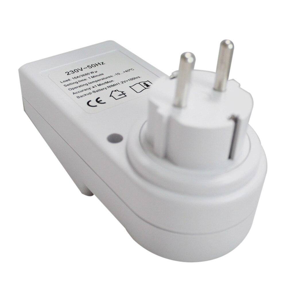 230V Plug Switch Socket New Arrival Plug in Programmable Timer ...