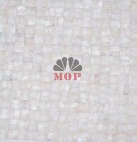 European USA Fashion Style Shell Mosaic Tile White Color Floor Bathroom Kitchen Mosaics Modern Tiles Home