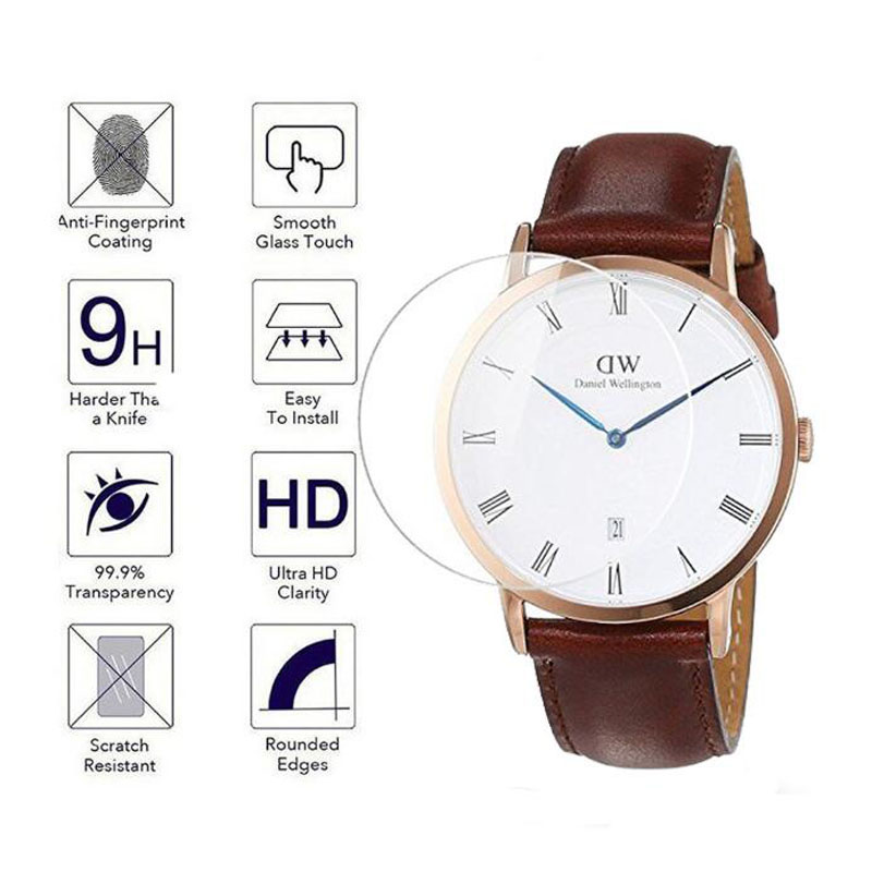 Protective-Film-Guard Screen-Protector Wellington Tempered-Glass Dw-Watch 40mm Daniel