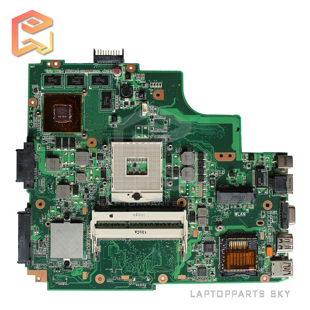Original For ASUS A43S X43S K43SV Laptop motherboard fit for K43SJ K43SM REV:2.2 DDR3 intel HM65 mainboard 100% fully tested for msi ms 10371 intel laptop motherboard mainboard fully tested works well