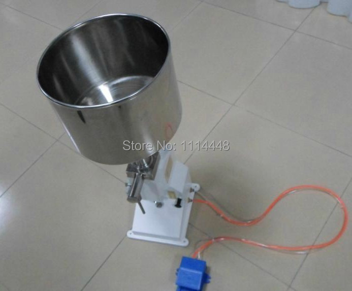 High quality pneumatic cosmetic paste liquid filling machine cream filler 5-50ml high quality pneumatic cosmetic paste liquid filling machine cream filler 1 10ml