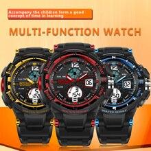 SANDA Nueva 2017 Niños Relojes de Cuarzo de Los Deportes Los Niños Reloj Digital Relojes de La Marca de Moda Al Aire Libre Multifuncional Niños Relojes de Pulsera
