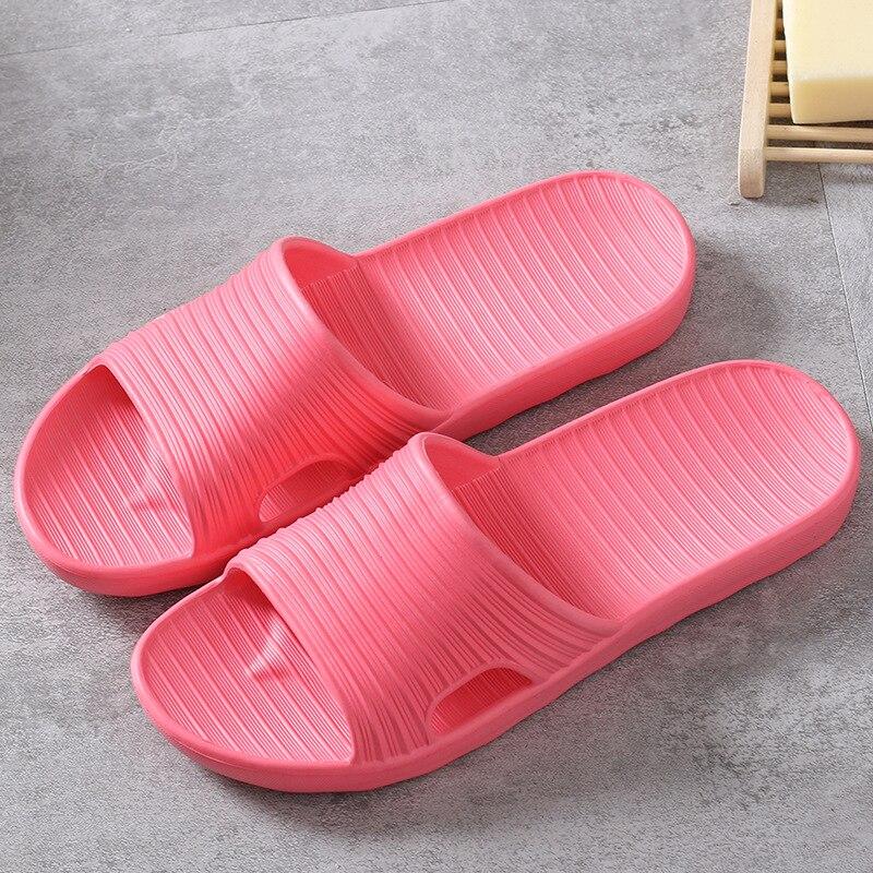 Crystal 2019 Summer Beach Slippers Pink Women Flip Flops High Quality Beach Sandals