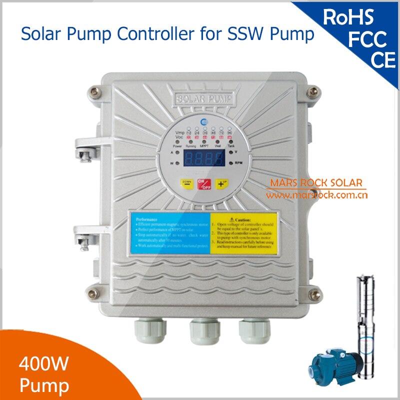 400 Watt Solarpumpenregler für DC24V solarpumpe mit MPPT Funktion DC-AC für SSW Solarpumpe