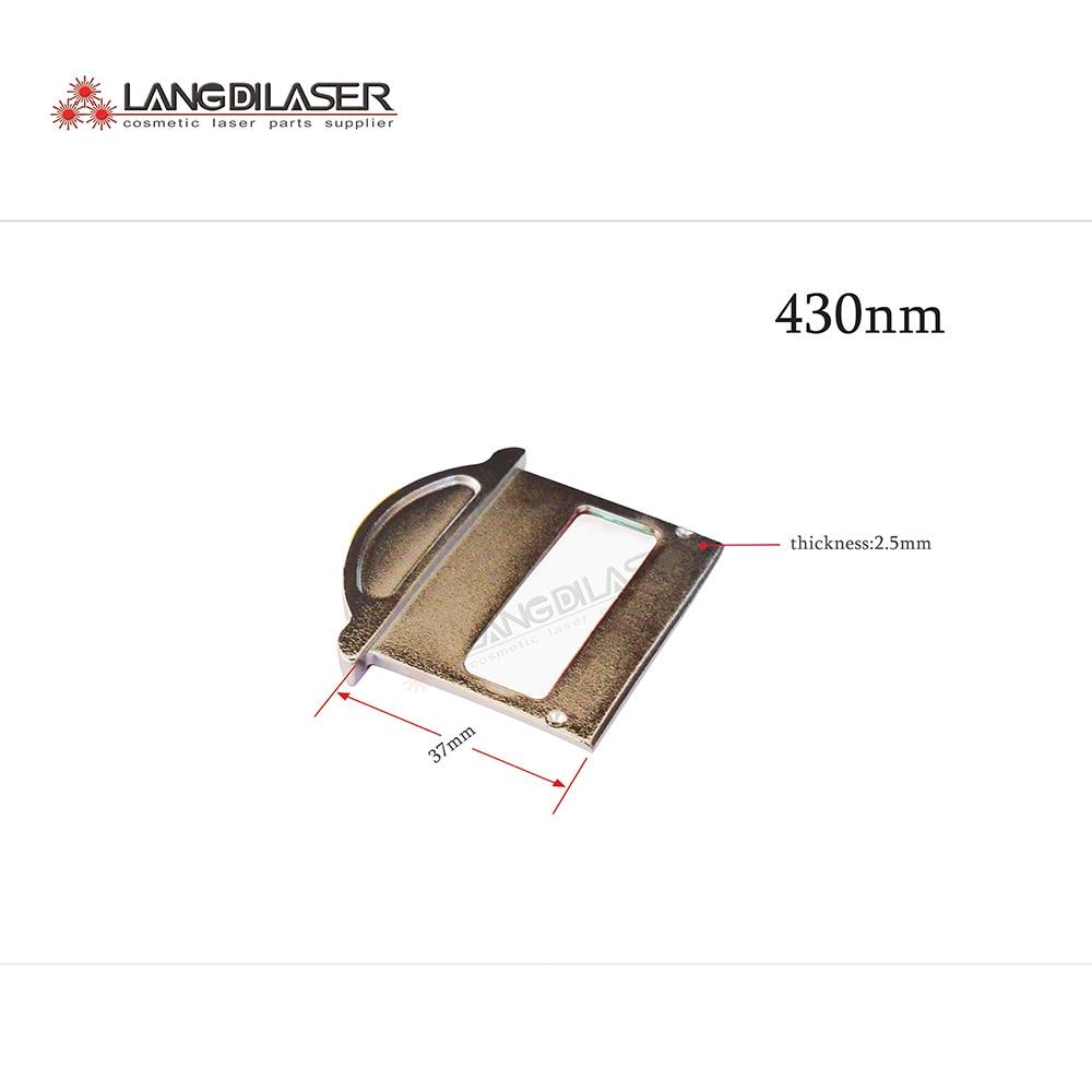 430nm ~ 1200nm filtri per IPL manipolo, estetica laser filtri per il ringiovanimento della pelle-in Aghi per tatuaggi da Bellezza e salute su  Gruppo 2