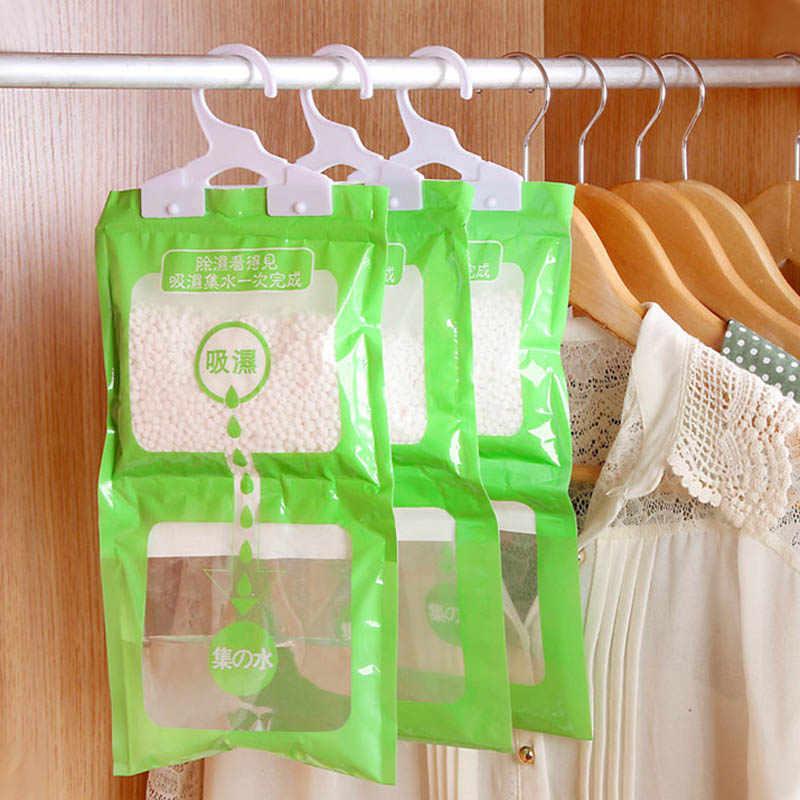 ワードローブの除湿掛けることができるワードローブ水分の袋をぶら下げエージェント吸湿性防カビ乾燥剤若者販売