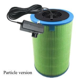 Image 4 - Homemade DIY Air Cleaner HEPA Filter Remove PM2.5 Smoke Dust Formaldehyde TVOC Home Car Deodorization Air Purifier