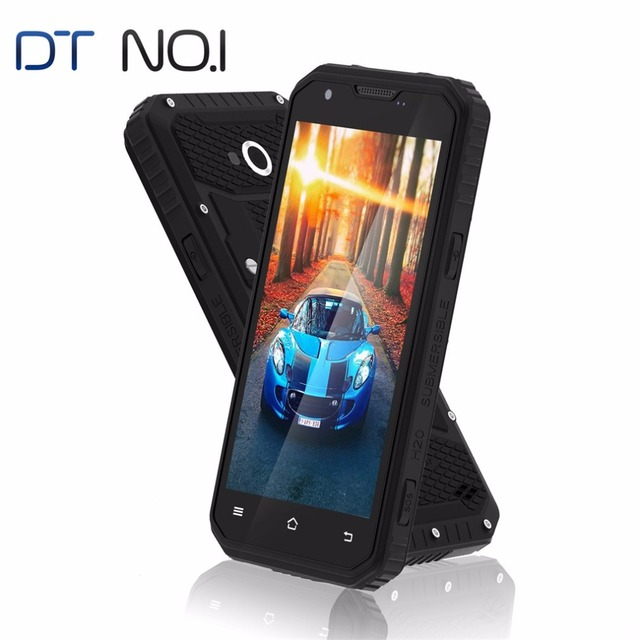 "DTNO.I Vphone M3 Quad Core 5.0"" Mobile Phone IPS HD MTK6735 2G RAM 16G ROM IP68 Waterproof 3300mAh 4G LTE Smartphone"