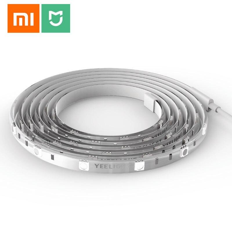 Xiaomi Yeelight Smart Light LED Strip RGB wifi Interlligent Scenes 16 Million Colors flexible DIY Ambient