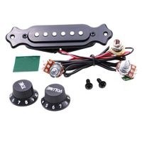KITARA High Quality Of The Sound Hole Magnetic Noiseless Electric Guitar Pickup Free Shipping