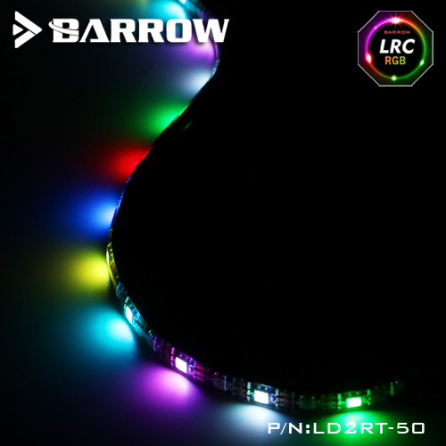 Barrow LD2RT LRC2.0 Aurora LED Light Tape with Self Adhesive Waterproof 10m super strong waterproof self adhesive double sided foam tape for car trim scotch