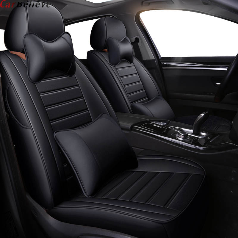 Car Believe car seat covers For Land Rover Range Rover freelander 2 discovery 3 evoque Velar covers for vehicle seat protector