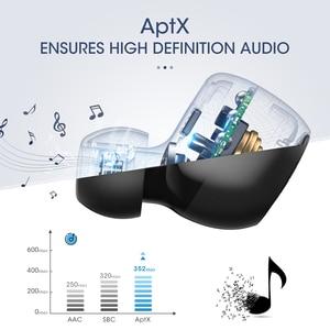 Image 2 - Mpow T5/M5 M משלוח Aptx TWS אוזניות Bluetooth 5.0 IPX7 עמיד למים ספורט אוזניות עם 5H לשחק זמן עבור Iphone X Huawei P20 לייט